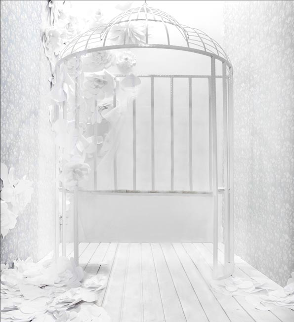 Pure White Wedding Photography Background Backdrops 6.5ft ...