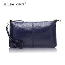 Frauen des echten leders geld geldbörsen marke design hohe qualität lange brieftaschen und portemonnaies crossbody umhängetaschen mode kupplungen