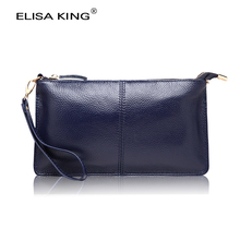 genuine leather women's money wallets brand design high quality long wallets and purses crossbody shoulder bags fashion clutches