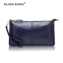 Véritable cuir de femmes argent portefeuilles brand design de haute qualité à long portefeuilles et sacs à main bandoulière sacs à bandoulière mode embrayages