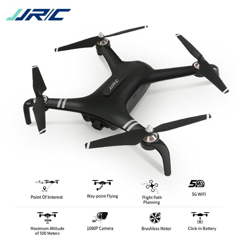 JJRC X7 INTELLIGENTE Doppio GPS 5G WiFi con 1080 P Giunto Cardanico Della Macchina Fotografica 25 minuti Tempo di Volo RC Drone Quadcopter RTF500-800m Distanza Drone 2019