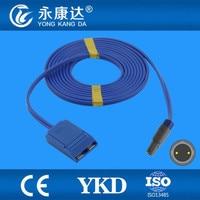 Compatible lemo Plug to Negative Plate Cable 2pin