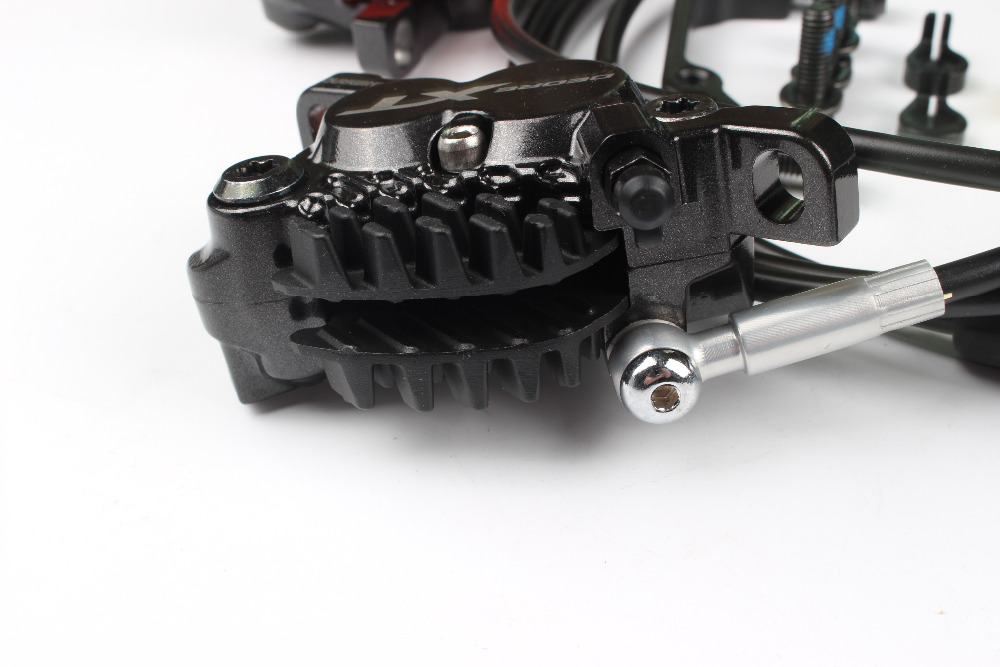 Shimano XT M8020 4 Piston Mountain Bike Bicycle Hydraulic Disc Brake For MTB Bike Downhill DH Front 1000mm Rear 1700mm