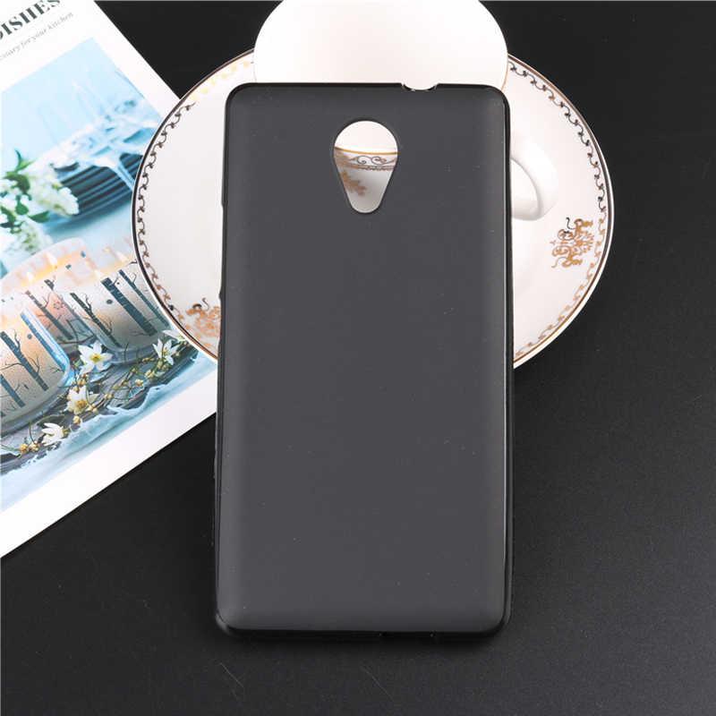 Para Wiko Caso Robby 5.5 polegada TPU Silicone Suave Caso Capa Protetora Do Telefone Para Wiko Coque Robby Branco Telefone de Volta saco Capa Fundas