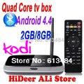 Nueva versión! Bluetooth MK888B CS918 EKB311 quad core Kodi tv box Android 4.4 2 GB + 8 GB RK3188 de 28nm de La Corteza A9 mini pc T-R42