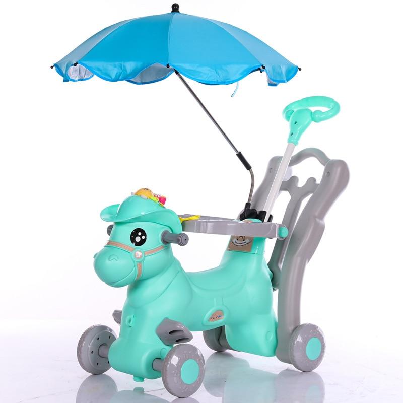 Chaise à bascule pour enfants avec musique bébé marcheur bébé videur multifonction grand bébé jouet voiture coulissante bébé artefact