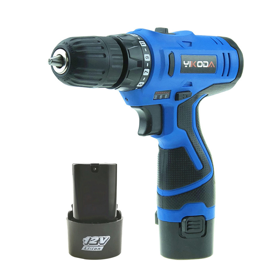 12V Electric Screwdriver Rechargeable Lithium Battery*2  Parafusadeira Furadeira Cordless Screwdriver Household Power Tools