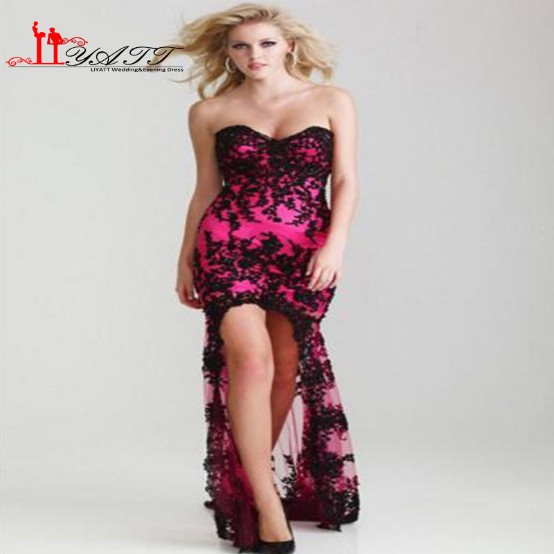Popular Hot Pink Gowns-Buy Cheap Hot Pink Gowns lots from China ...