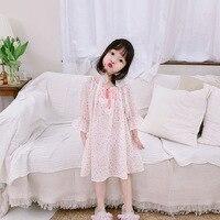 NIGHTGOWN KIDS PAJAMAS FOR GIRLS SLEEPING CLOTHES OF GIRLS KIDS PAJAMAS DRESSES PRINCESS DRESSES PIJAMAS DE VESTIO
