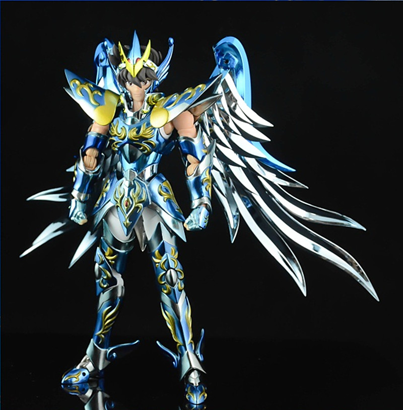 GT Pegasus 10th anniversary Seiya V4 god cloth EX bronze Saint Myth Cloth Action Figure Metal Armor Kids Model Gift anime action figure saint seiya myth cloth nordic god fighter alkaid red meem metal armor collectible model