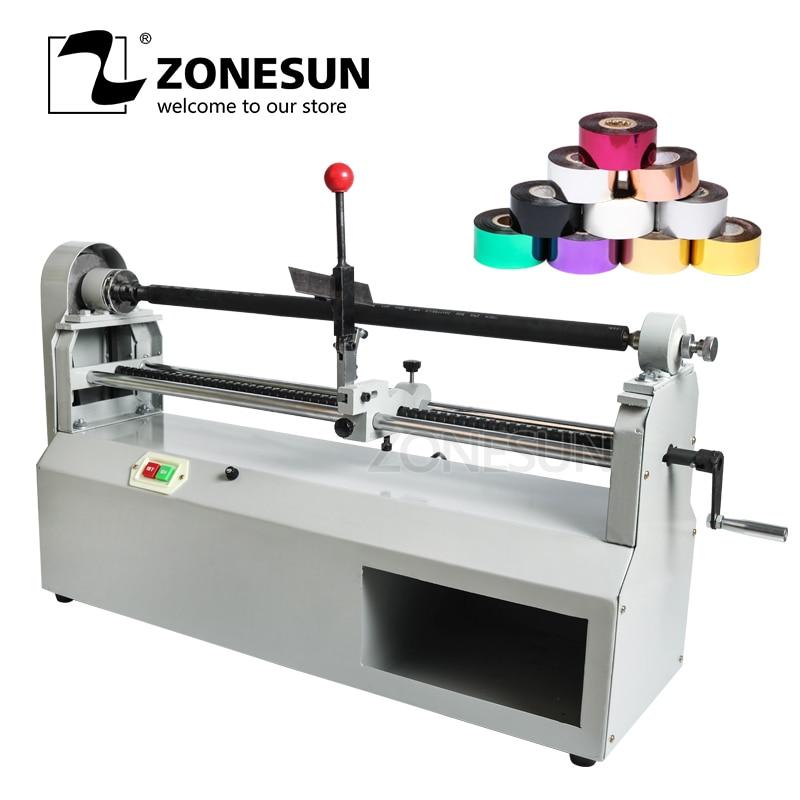 ZONESUN 68cm Electric Foil Paper Cutting Machine Hot Foil Paper Roll Cutting Machine 220V (Cut Less 68cm)
