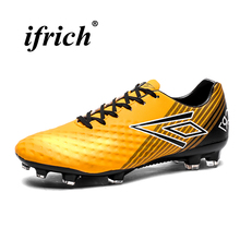 Man Football Shoes Gold Silver Soccer Spring Summer Sneakers for Lightweight Non Slip Athletics
