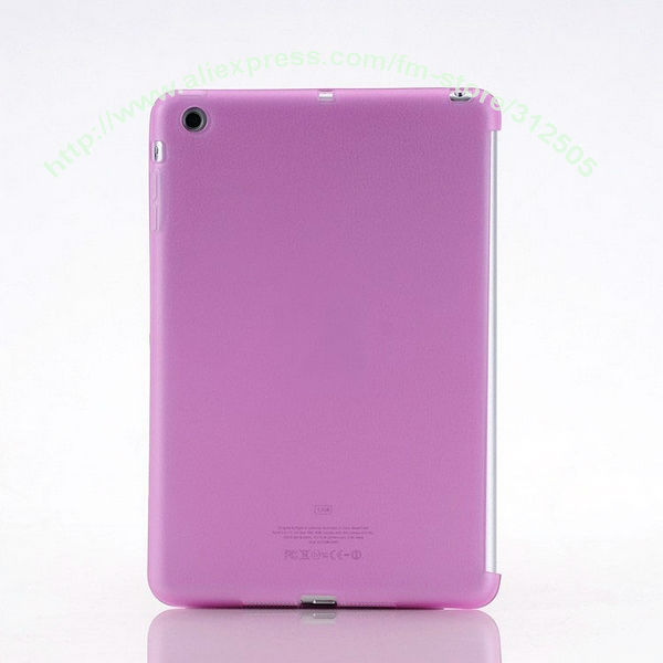 1-5PC New Companion Colors Back TPU Skin Cover Case for iPad Mini, High Qualiy Very Nice,Free Shipping