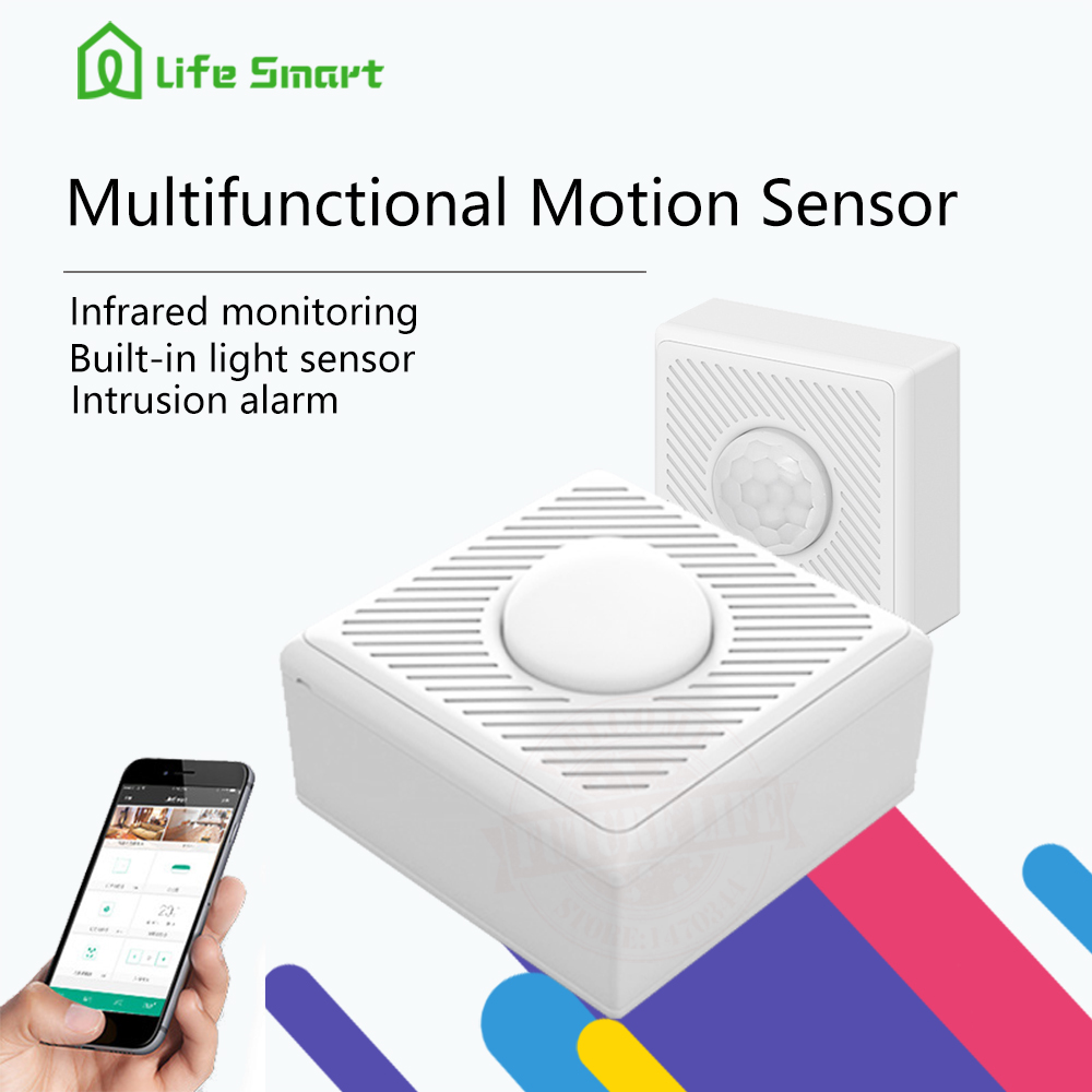 2017 lifesmart inteligente multifuncional motion sensor detector cuerpo sensor d