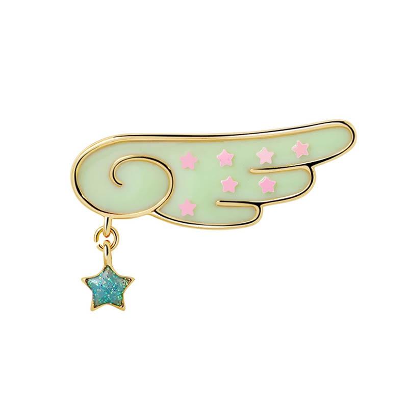 Cardcaptor Card Captor Sakura Clear Cards Sakura KINOMOTO Wing Badge Emblem