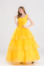 Beauty and the Beast Princess Belle Cosplay Dress