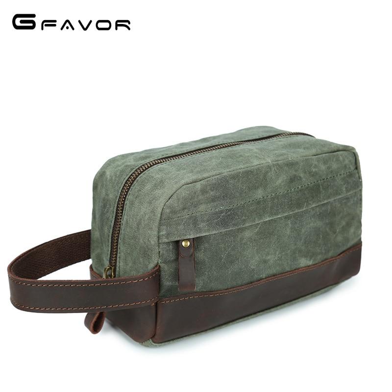 Zipper Money Clip Wallet Clutch Bag Purses Canvas Men Wallets Leather Man Wallet Long Male Purse Multi-Function Phone Bag