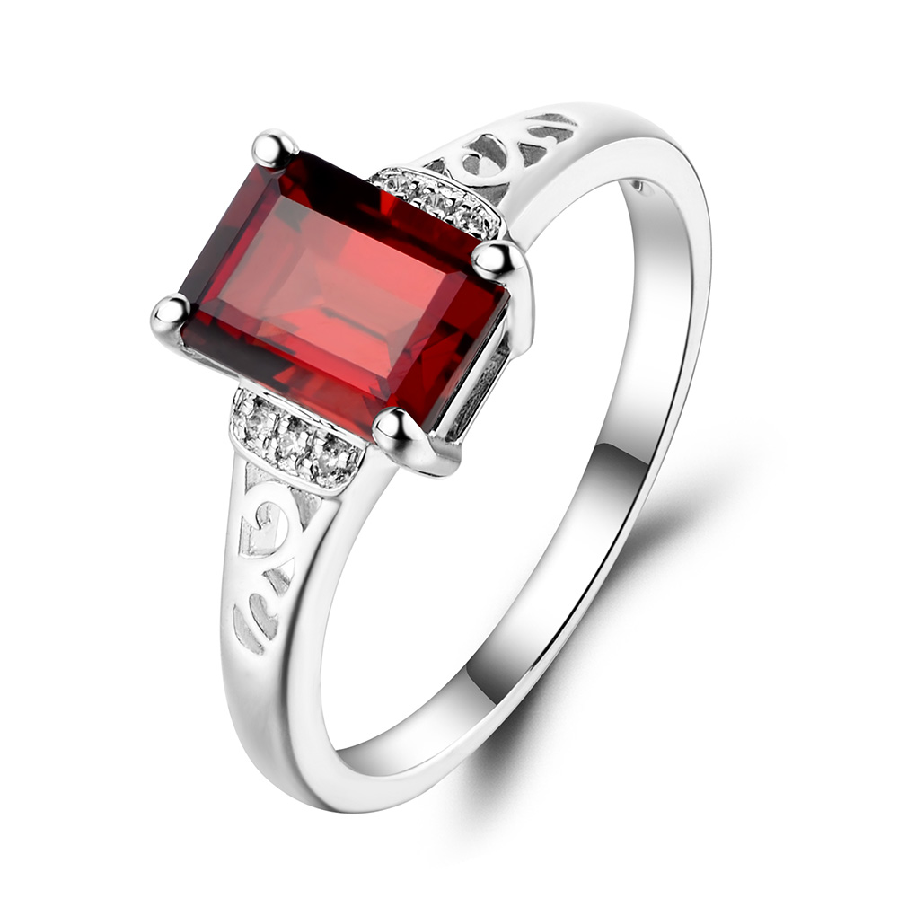 wedding with and red black unique rings ring sets