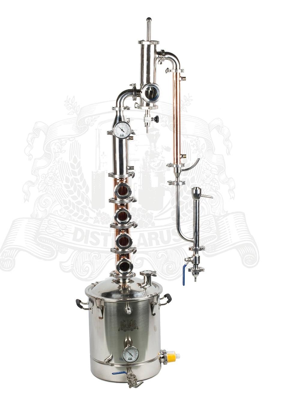 55l - 38l Copper kit for distillation with Gin Basket цена