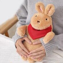 Cartoon Rubber Hot Water Bag Hand Warmer Warming Bottle Feet Warm Hand Warmer Plush Toy