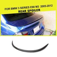Auto Styling Koolstofvezel Auto Automotive Rear Spoiler Wing Voor BMW 3 Serie E90 M3 2005 2012-in Spoilers & vleugels van Auto´s & Motoren op