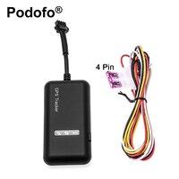 מקורי Podofo מיני לרכב GPS Tracker tk110 GT02 זמן אמת GSM GPRS זמן אמיתי קישור Google GPS Locator רכב מעקב התקנים