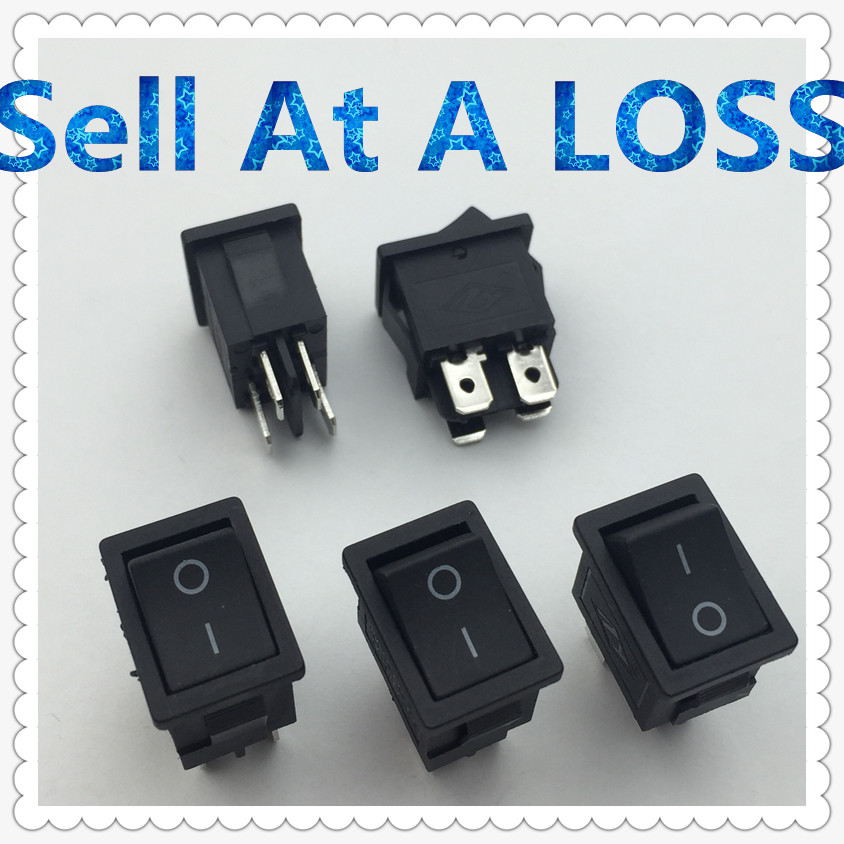 5pcs/lot 15*21mm SPST 4PIN ON/OFF G122 Boat Rocker Switch 6A/250V 10A/125V Car Dash Dashboard Truck RV ATV Home 5pcs kcd1 perforate 21 x 15 mm 6 pin 2 positions boat rocker switch on off power switch 6a 250v 10a 125v ac new hot