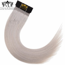 VL Sliver Straight Hair Weave 100% Remy Hair Extensions Human Hair Bundles 1 Piece With Free Shipping Salon Bundle Hair(China)