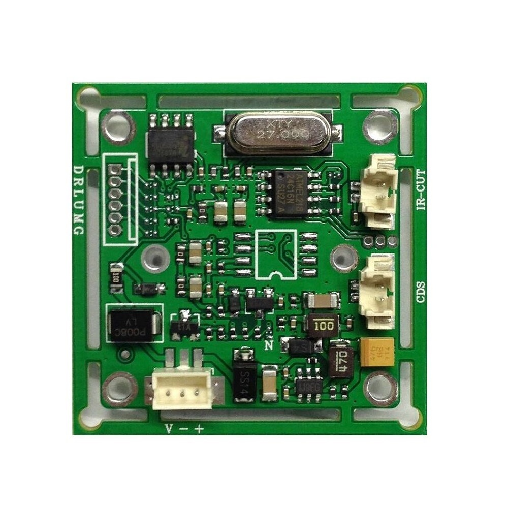 """CCTV CMOS 700TVL Board Camera Module 1//3/"""" CMOS PC3089  CMOS Analog Board"""