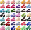 25g/ball Colorful 4# Combed Soft Baby Milk Cotton Yarn Fiber Velvet Yarn Hand Knitting Wool Crochet Yarn for DIY Sweater