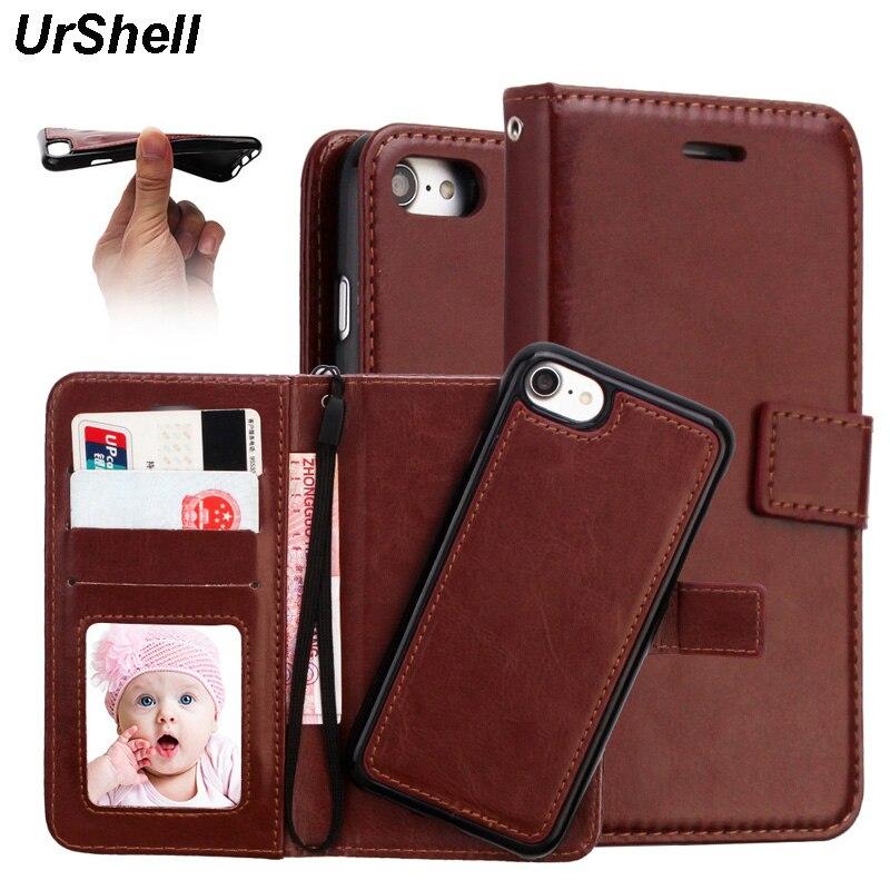 100% Kwaliteit 2 In 1 Telefoon Case Voor Iphone X 8 7 6 6 S Plus Xr Xs Max Mangnetic Afneembare Flip Wallet Leather Case Cover Voor Iphone X Warm En Winddicht