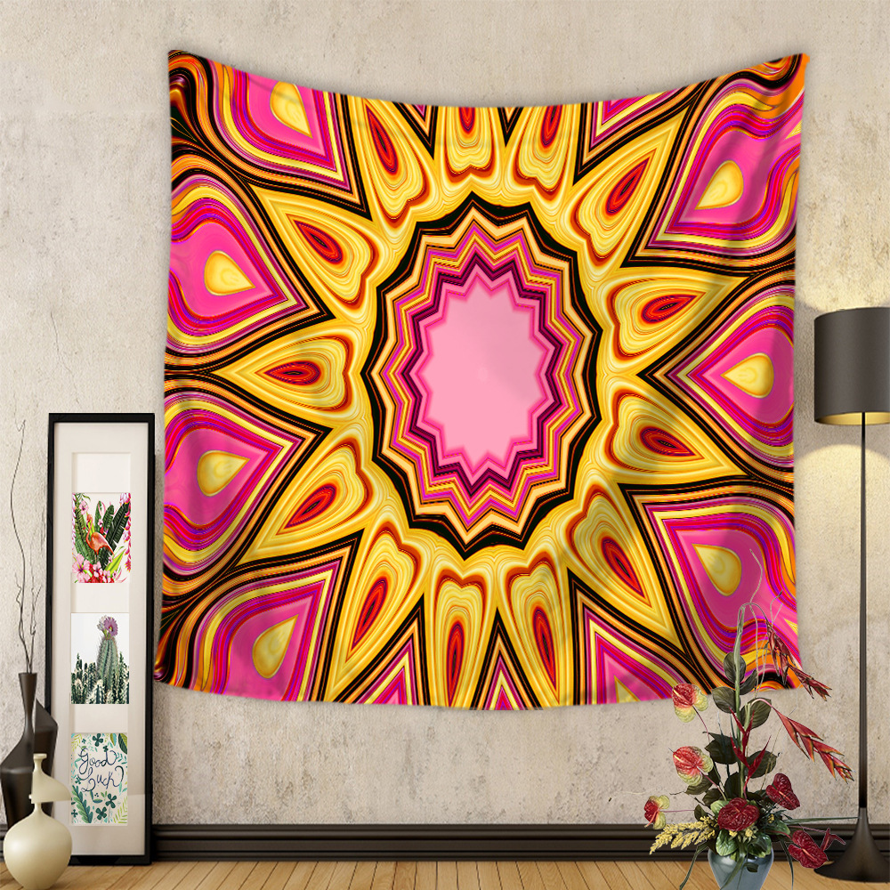 Moroccan Home Decor Bohemian National Wind Tapestry Living