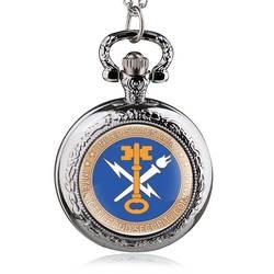 БРОНЗА США отправление Для мужчин t Армии тема кварцевые карманные часы с Цепочки и ожерелья цепи подарок для Для мужчин Для женщин