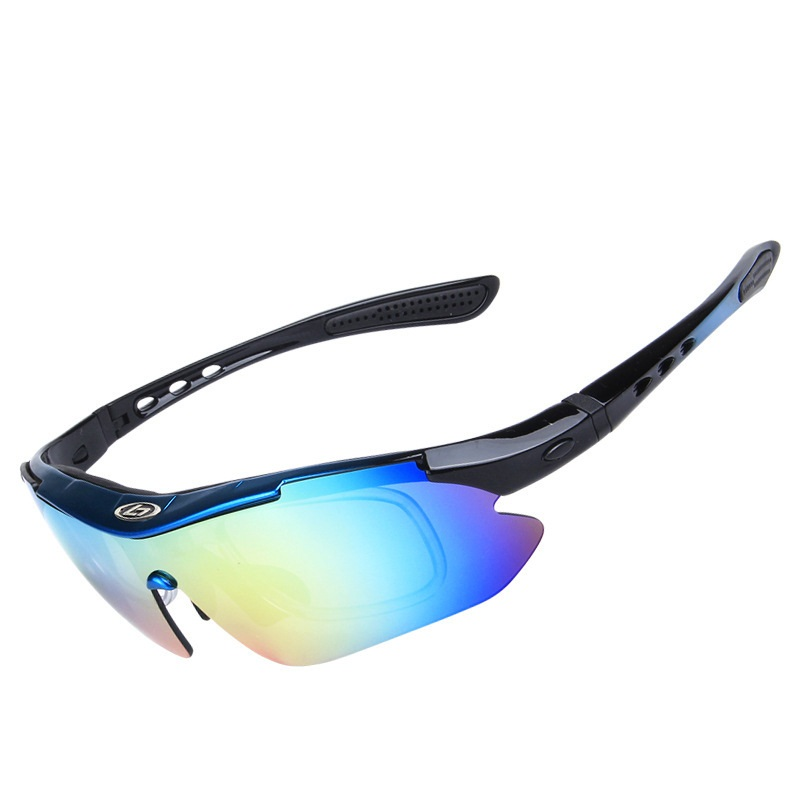 e158319413 5 PC Lens Polarized Fishing Glasses Set Men Watching Fish Float Anti-UV  Boxed Eyewear