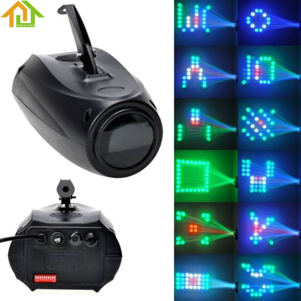 Portable Music Active LED Lights Laser Stage Effect Lighting Club Disco DJ Party Bar KTV laser head wave music system awrcc7