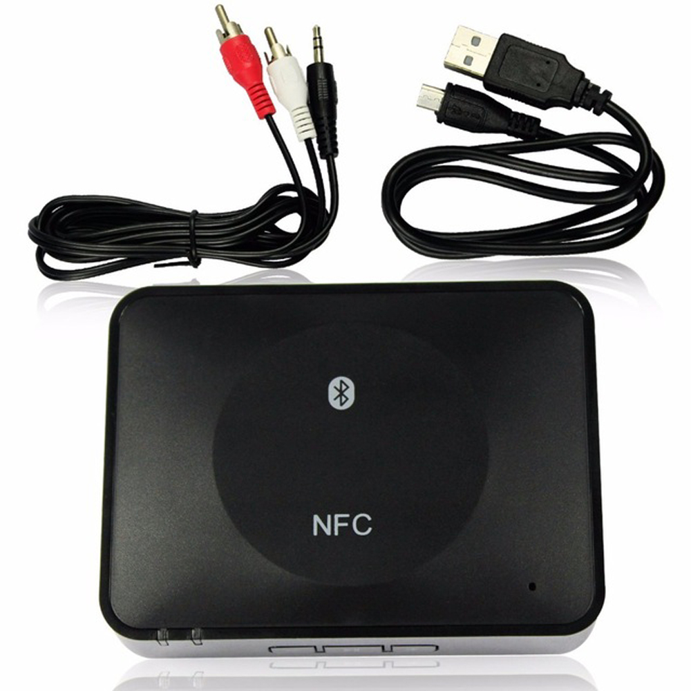 NFC Music 3.5 Blutooth Stereo Sound Music Wireless Aux 3.5mm 4.1 USB Bluetooth Audio Adapter Receiver For Headphone RCA Reciever