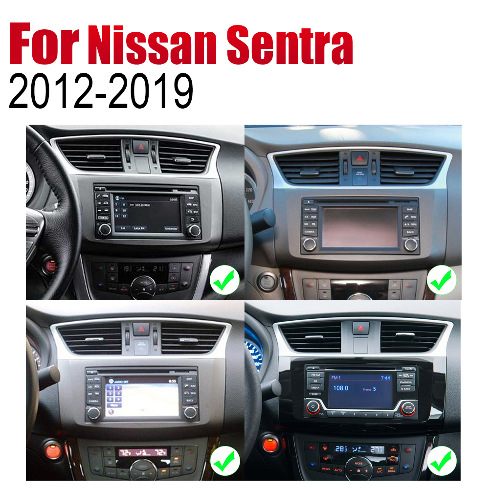 Auto DVD Player GPS Navigation For Nissan Sentra 2012 2019 Car Android Multimedia System Screen Radio Stereo in Car Multimedia Player from Automobiles Motorcycles