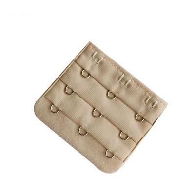 5 шт., расширители для бюстгальтера, удлинение пряжки, 3 крючка, 1, 2, 3, 4, 5 крючков, расширитель для бюстгальтера, инструмент для шитья, аксессуары для женщин - Цвет: Skin 3 buckle