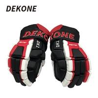 Dekone Hockey Gloves Senior Light Weight Breathable Flexible 14 For Ice Roller Inline Street Hockey Training Ice Hockey Glove