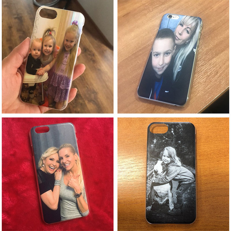 DIY image Customized picture Hard PC case for iPhone 11 Pro 12 Mini XR X XS MAX 7 8 6 6S Plus 11 12 Pro Max Custom Cover Coque