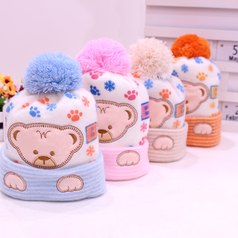 4f93362dc6c Baby Hat Kids Winter Hats Newborn Cap Hot Super Soft Cashmere Beanie Bonnet  For Boys Girls
