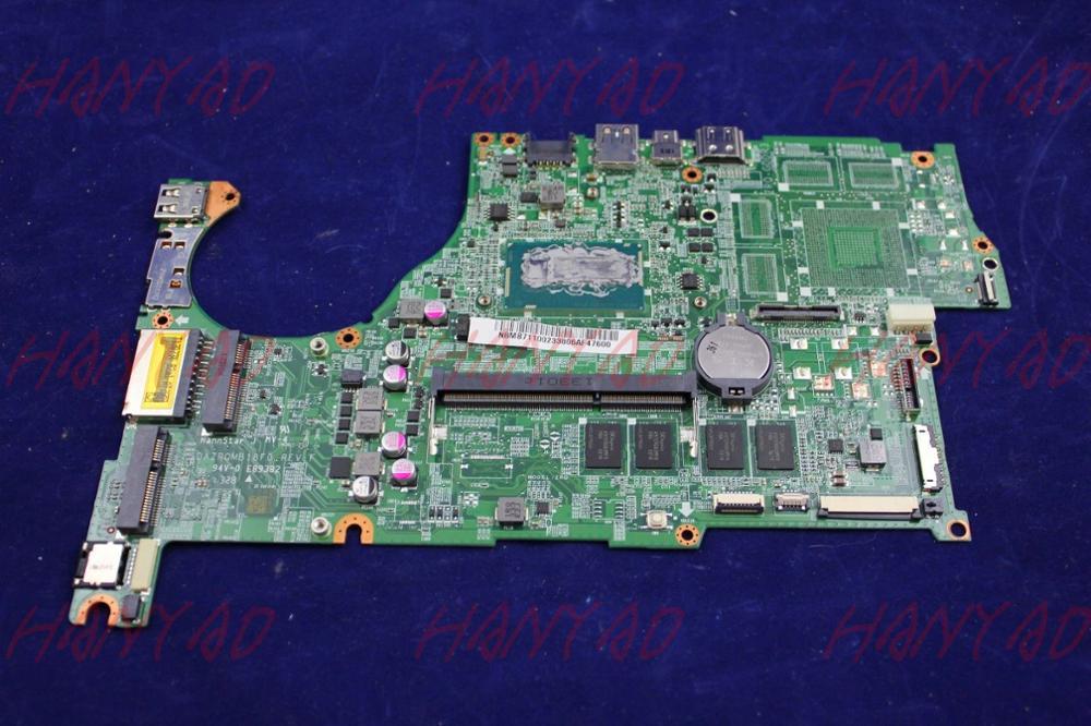 DAZRQMB18F0 For font b Acer b font Aspire V5 573 Laptop Motherboard I5 cpu DDR3L 4GB