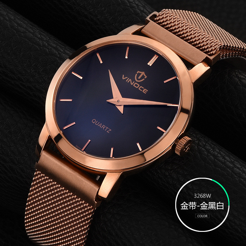 VINOCE Wristwatch 2017 Quartz Watch Men Top Brand Luxury Famous Wrist Watch Male Clock for Men Hodinky Relogio Masculino new stainless steel wristwatch quartz watch men top brand luxury famous wrist watch male clock for men hodinky relogio masculino