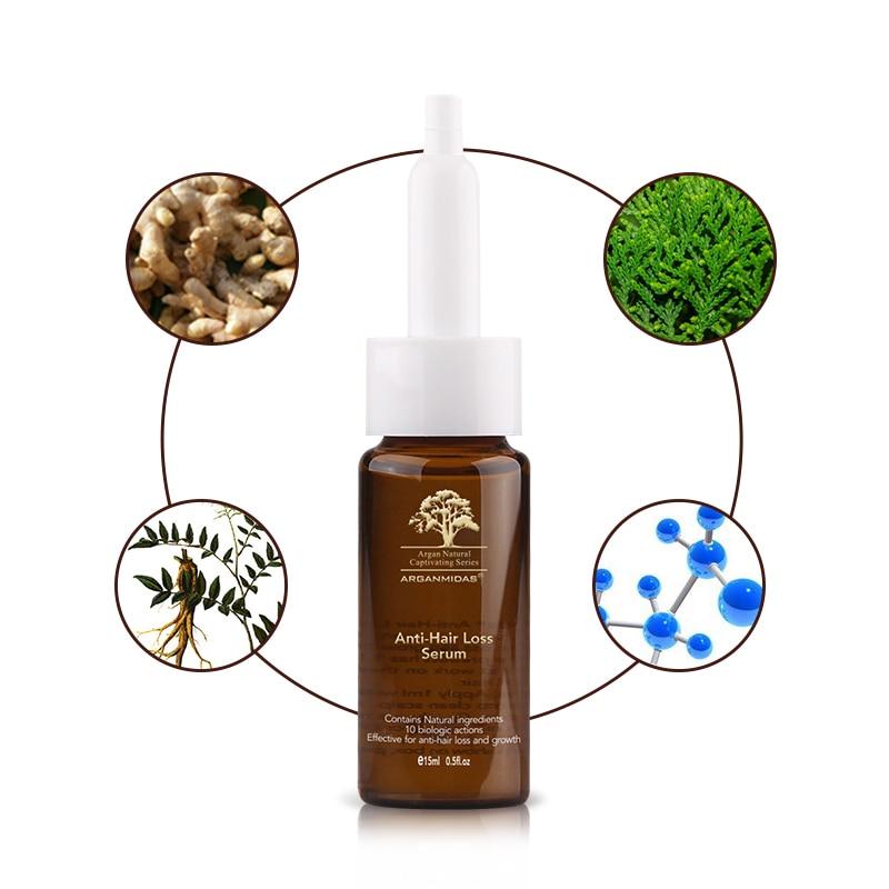 Купить с кэшбэком 15ml Wild Growth Hair Oil Miracle Hair Roots Treatment Anti Hair Loss Hair Serum