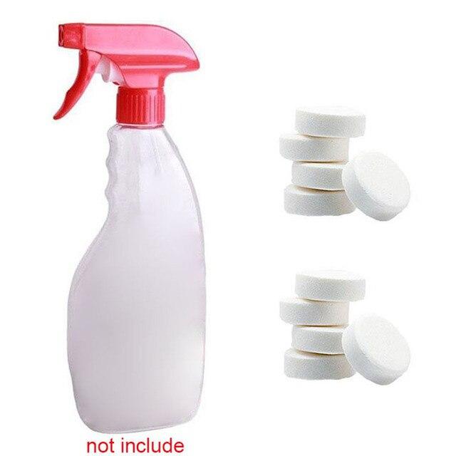 1/5/10 pz Hot Utile Multifunzionale Effervescenti Spruzzare il Detergente Concen