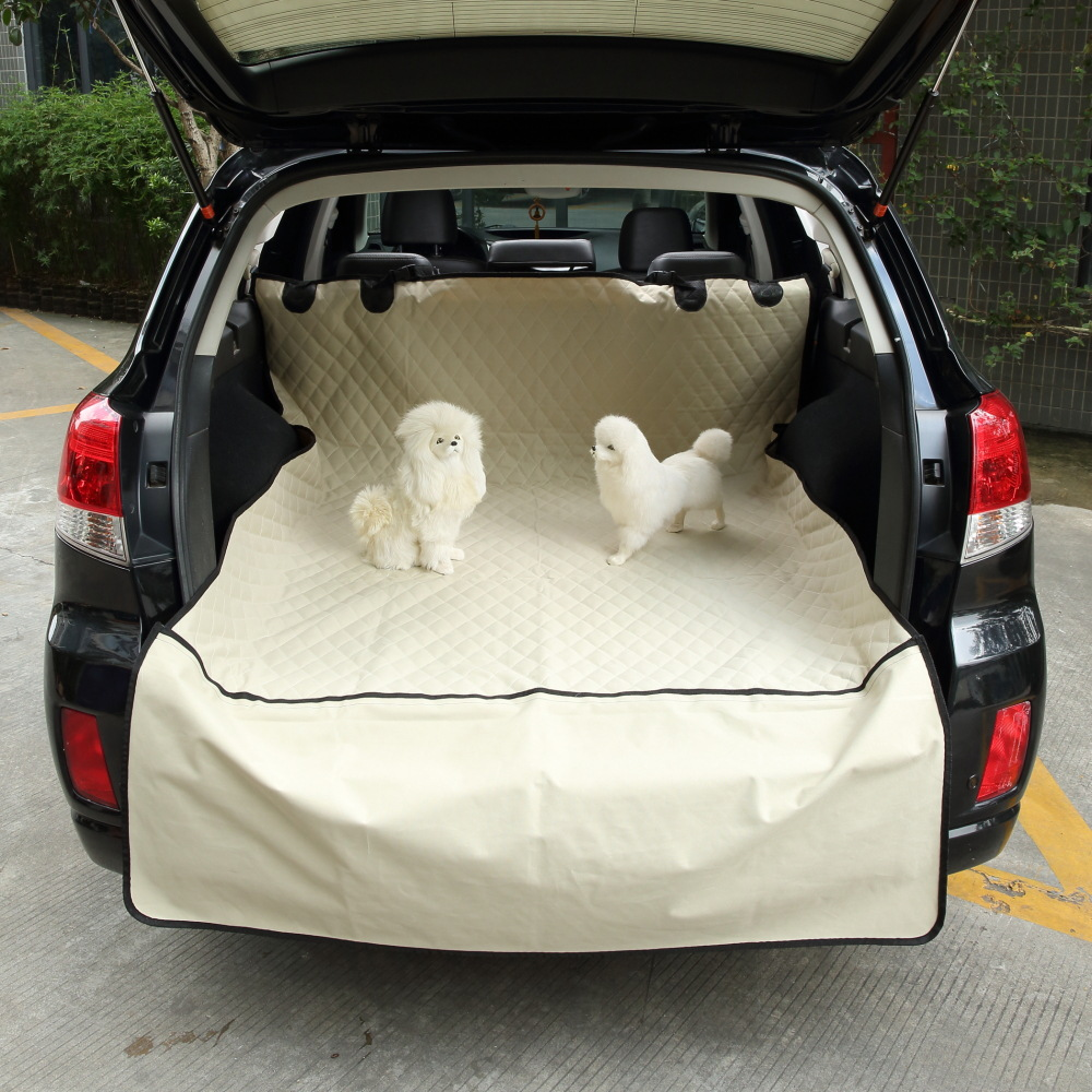 Soft SUV Foldable Waterproof Dog Car Seat Cover Pet Carriers Truck Hammock pet Car Mat Pet Car Seat Cove