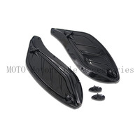 Motorcycle Side Wings Case Windshield Air Deflectors Case For Harley Touring FLHR FLHT FLHX 96 2000
