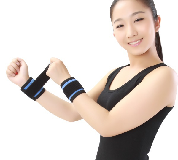 Free Shipping Self Heating Wrist Brace Support Strap Mangnetic Far Infrared Ray, In Stock