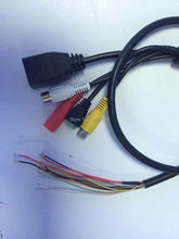 Network surveillance cameras wire  4/5 + 7/8-POE+the RS485 + with audio function