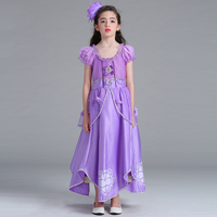 4T 12T Girl Dresses Halloween Christmas Lace Magic Witch Princess Style Dresses Sleeveless Dresses Spring Summer
